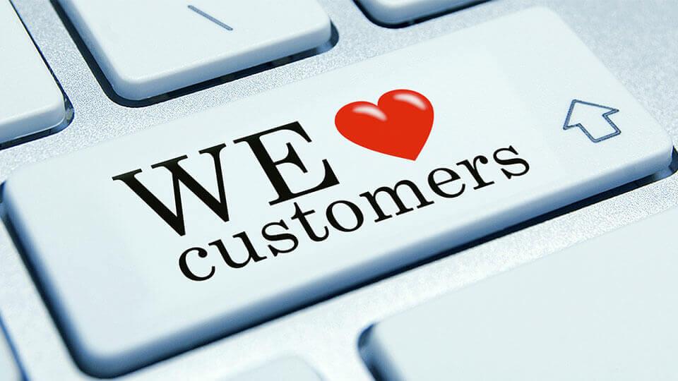 مشتری را دوست داریم