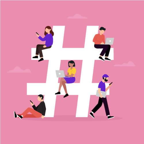 هشتگ اینستاگرام hashtag