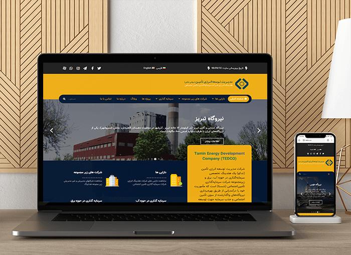طراحی سایت تدکو