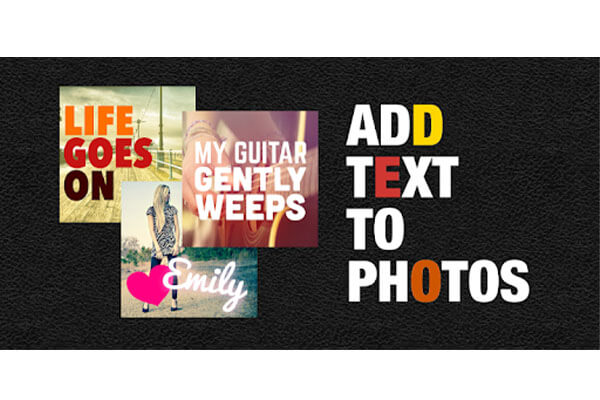 اضافه کردن متن به عکس
