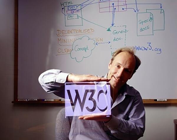 اولین طراحی سایت توسط تیم برنرز