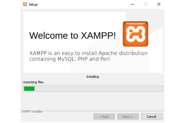 نصب و اجرای XAMPP