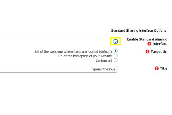 تنظیمات شبکه های اجتماعی در وردپرس